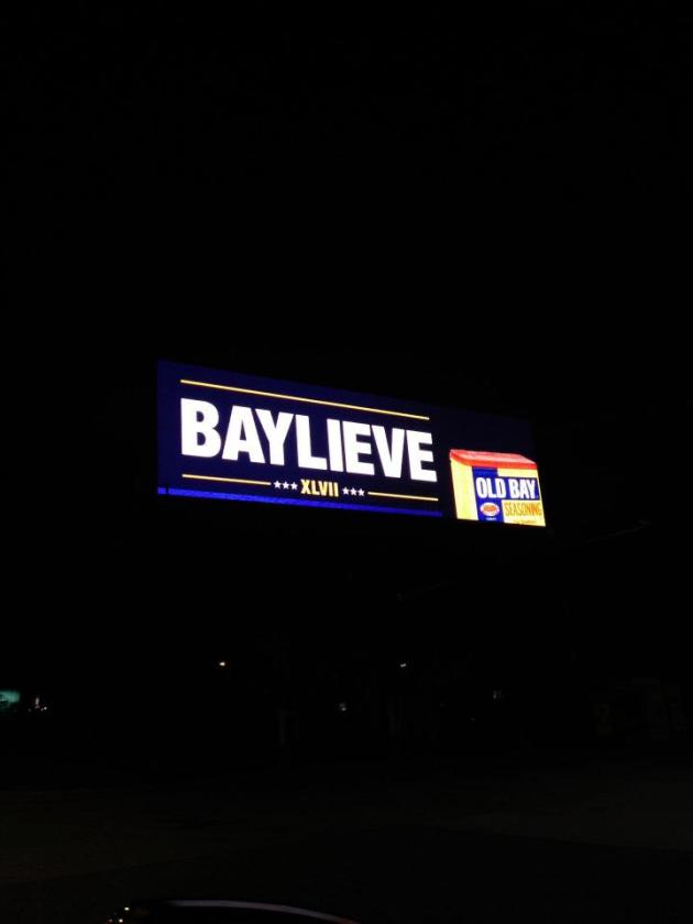 Old Bay + Ravens= BAYLIEVE