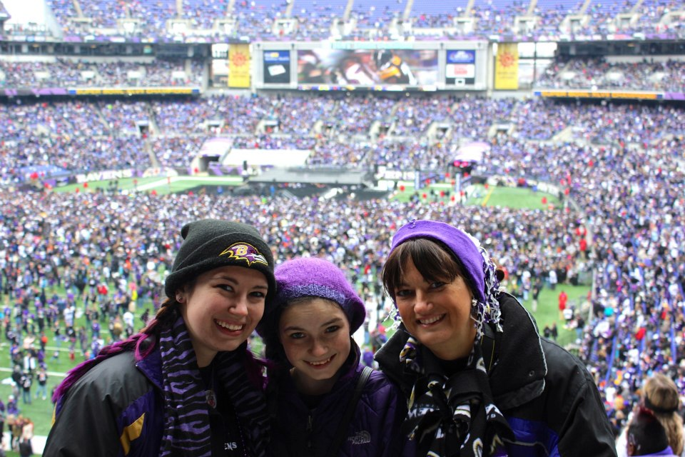 Ravens Stadium Celebration!