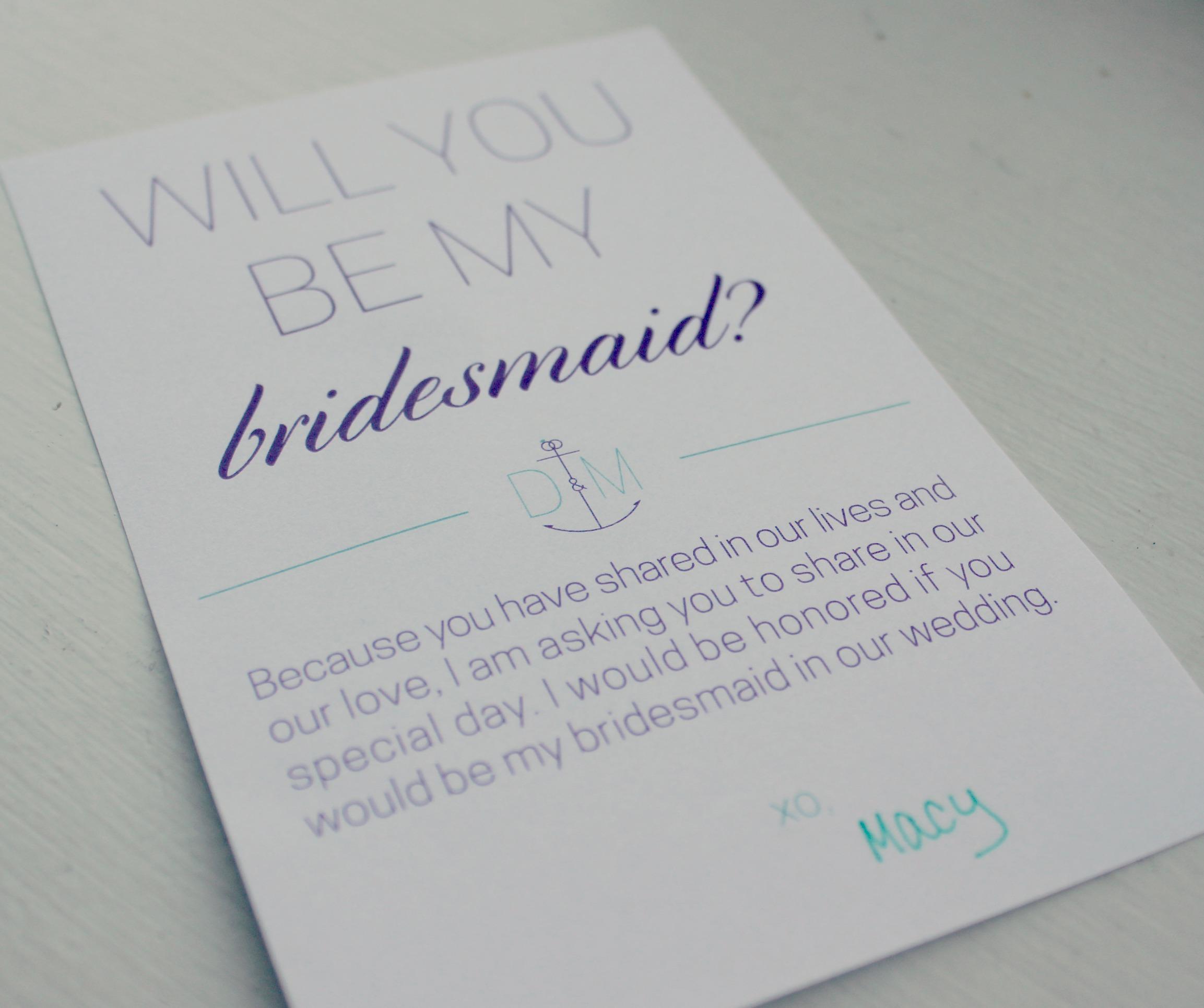 Wedding Wednesday {Bridesmaids!}
